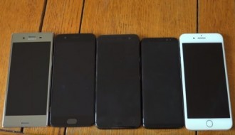 HTC U11, S8, XZ Premium, OnePlus 5 ve 7 Plus hız testinde