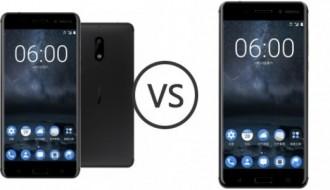Nokia 8 ile Nokia 6 beraber hız testinde
