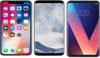 iPhone X, Galaxy S8 ve LG V30'un hangisinin kamerası daha iyi?