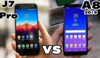 Samsung Galaxy A8 ve Galaxy J7 Pro hız testinde rakip oldu
