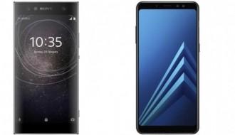 Xperia XA2 Ultra ve Galaxy A8 Plus parmak izi hız testinde
