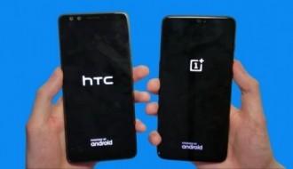 HTC U12+ ile OnePlus 6 hız testinde karşı karşıya geldi