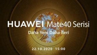 Huawei Mate 40 Serisi Tanıtım Etkinliğini İzleyin