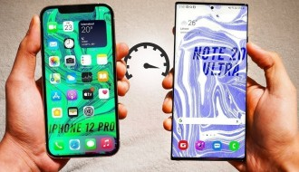 iPhone 12 Pro ve Galaxy Note 20 Ultra Hız Testi