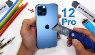 iPhone 12 Pro Dayanıklılık Testi