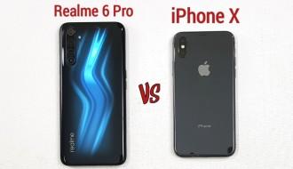 Realme 6 Pro ve iPhone X Hız Testi