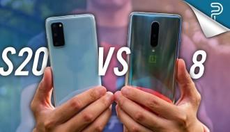 Samsung Galaxy S20 ve OnePlus 8 Karşılaştırması