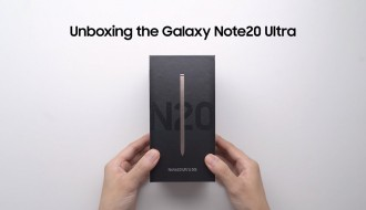 Samsung Galaxy Note 20 Ultra Resmi Kutu Açılışı