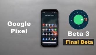 Android 11 Beta 3 ile Gelen Yenilikler