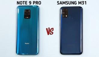 Redmi Note 9 Pro ve Samsung Galaxy M31 Karşılaştırması