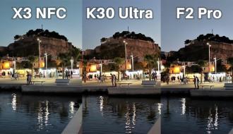 Poco X3 NFC, Poco F2 Pro ve Redmi K30 Ultra Kamera Karşılaştırması