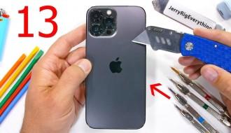 iPhone 13 Pro Max Dayanıklılık Testi