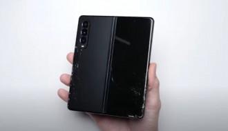Galaxy Z Fold 3 Düşme Testi