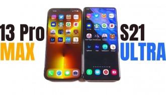 iPhone 13 Pro Max ve Galaxy S21 Ultra Hız Testi