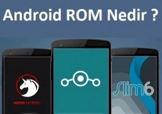 Android ROM Nedir ? Nasıl ROM Yüklenir ?