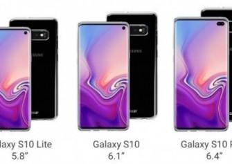 Olixar Kılıf, Galaxy S10 Plus'ın Arkada Dört ve Önde İki Kamera ile Geleceğini Doğruladı