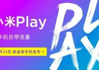 Xiaomi Play Akıllı Telefon, 24 Aralık Tarihinde Duyurulacak