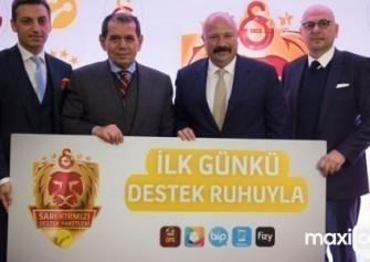 Turkcell'den, Şampiyonlar Ligi'nde Galatasaray'lılara destek
