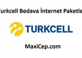 Turkcell Bedava İnternet Paketleri