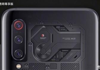 Xiaomi Mi 9'un Şeffaf Versiyonu Özel Bir Kameraya Sahip