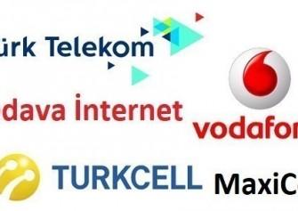 Turk Telekom Turkcell Vodafone Bedava İnternet Paketleri