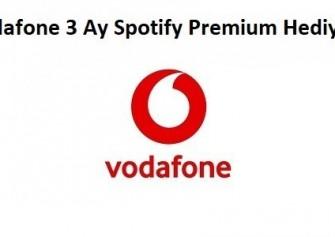 Vodafone Ücretsiz Spotify Premium Hediyesi