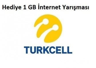 Turkcell Kim 1 GB İster ? Hediye İnternet Fırsatı