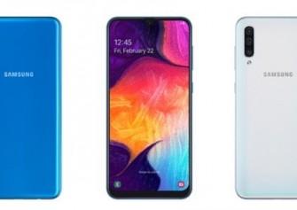 Samsung Galaxy A20, 6.4 inç Super AMOLED Infinity-V Ekranla Duyuruldu
