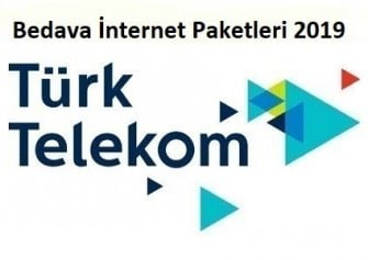 Türk Telekom Bedava İnternet 2019 Yılı
