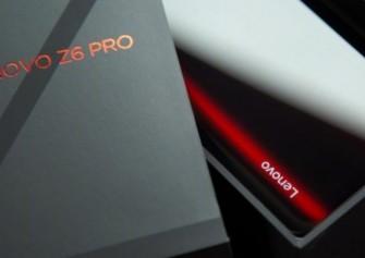Lenovo Z6 Pro Ön Rezervasyonu Başladı