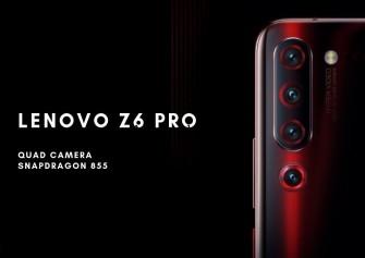 Lenovo Z6 Pro Tanıtıldı: İşte Özellikleri ve Fiyatı