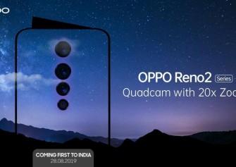 Oppo Reno 2 Dört Arka Kamera İle Birlikte Geliyor