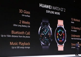 Huawei Watch GT 2 Akıllı Saati ve Huawei Vision Akıllı Televizyonu Tanıtıldı