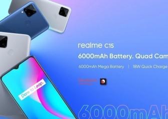 Realme C15 Qualcomm Edition resmi olarak duyuruldu