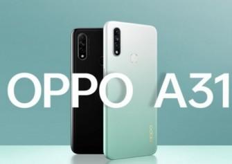 OPPO A31 resmi olarak duyuruldu