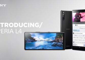 Sony Xperia L4 resmi olarak duyuruldu