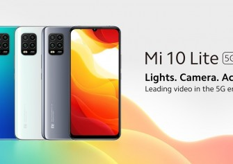 Xiaomi Mi 10 Lite 5G resmi olarak duyuruldu