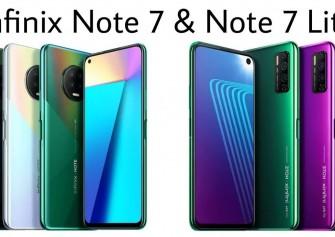 Infinix Note 7 ve Note 7 Lite resmi olarak duyuruldu