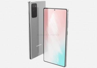 Samsung Galaxy Note 20 tasarımı ortaya çıktı