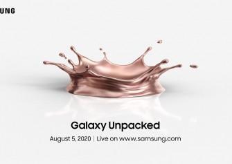 Galaxy Note 20'nin tanıtılacağı Galaxy Unpacked 2020 etkinliğinin tarihi açıklandı