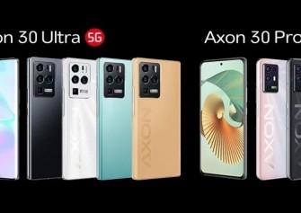 ZTE Axon 30 Ultra ve Pro resmi olarak duyuruldu