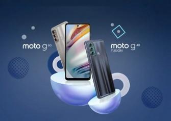 Moto G60 ve G40 Fusion resmi olarak duyuruldu