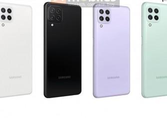Samsung Galaxy A22 5G ve A22 4G görselleri ve özellikleri ortaya çıktı