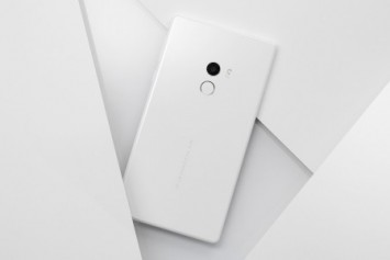 Xiaomi, İnci Beyazı Mi Mix Modelini CES 2017'de Tanıttı