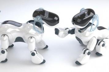 Sony kolları, akıllı köpek için sıvadı