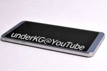 LG G6'nın Yeni Görüntüleri Metal Gövde Tasarımı Doğruladı