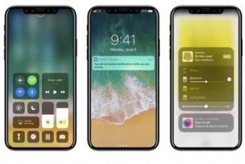 iOS 11'li iPhone 8 konsept görüntüleri yayınlandı
