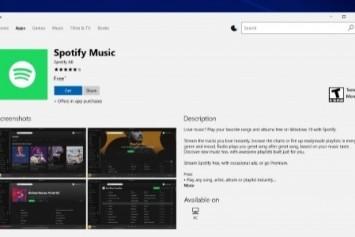 Spotify Windows 10 Uygulaması Yayınlandı