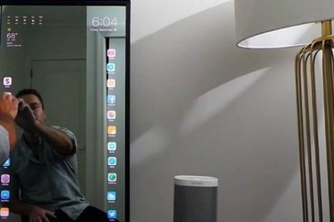 Aynanız artık dev bir <strong>iPhone</strong> olacak