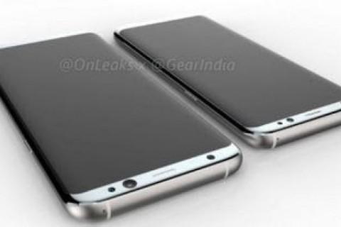 Samsung Galaxy S8'in Görselleri Geldi